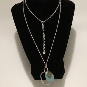 Stella&dot color pop versatile pendant necklace
